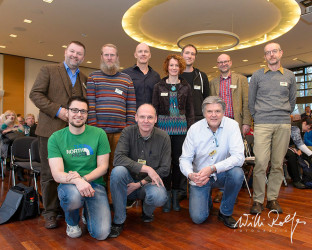 From left top to right under: Willi Rolfes, Dr. Martin Stock, Stephan Tüngler, Misja Smits, Dieter Damschen, Dr. Martin Feltes, Dr. Peter Wernicke, Stefan Christmann, Klaus Nigge,  Hans Strand